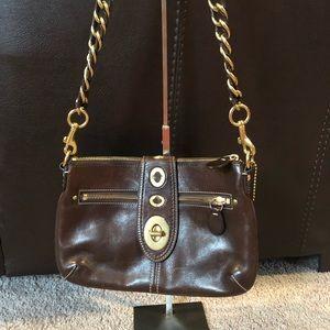 🚫SOLD🚫 Vintage Coach Turnlock bag